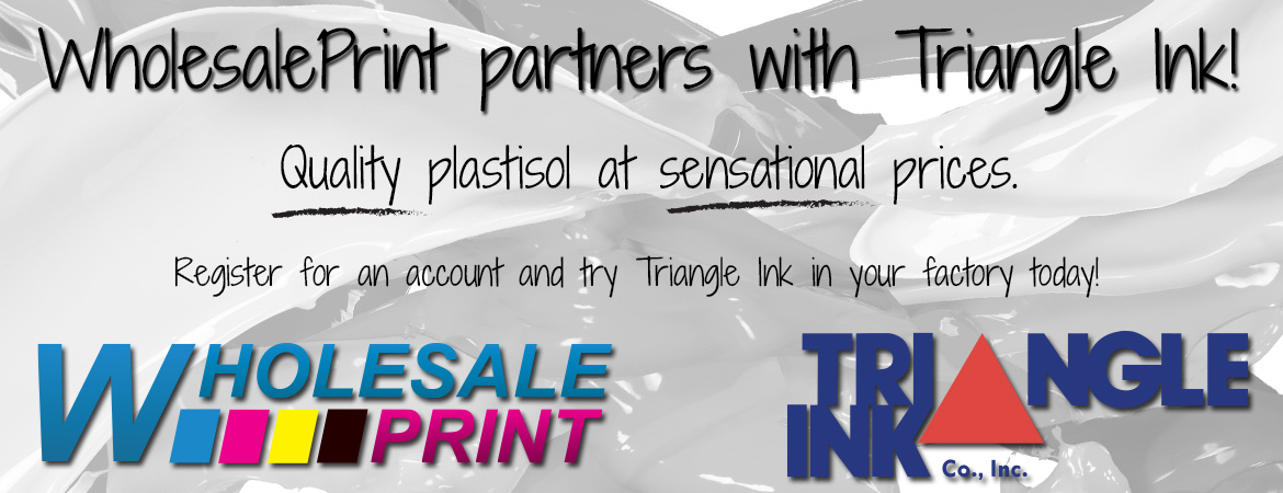 Wholesale print for Triangle wholesale printing
